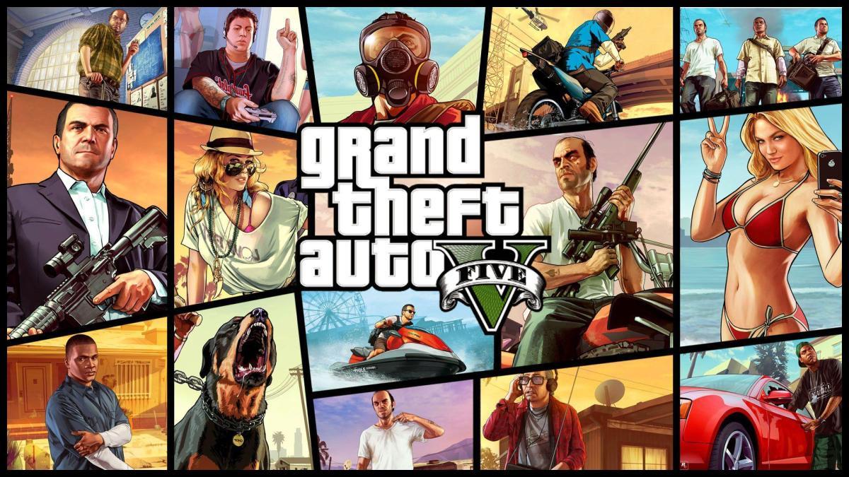 Gran Theft Auto V es el mejor juego de ladécada