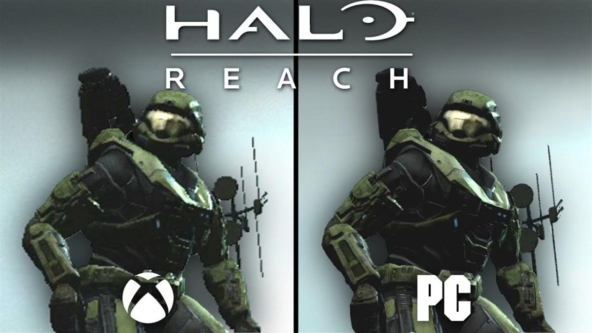 Halo: Reach PC vs360