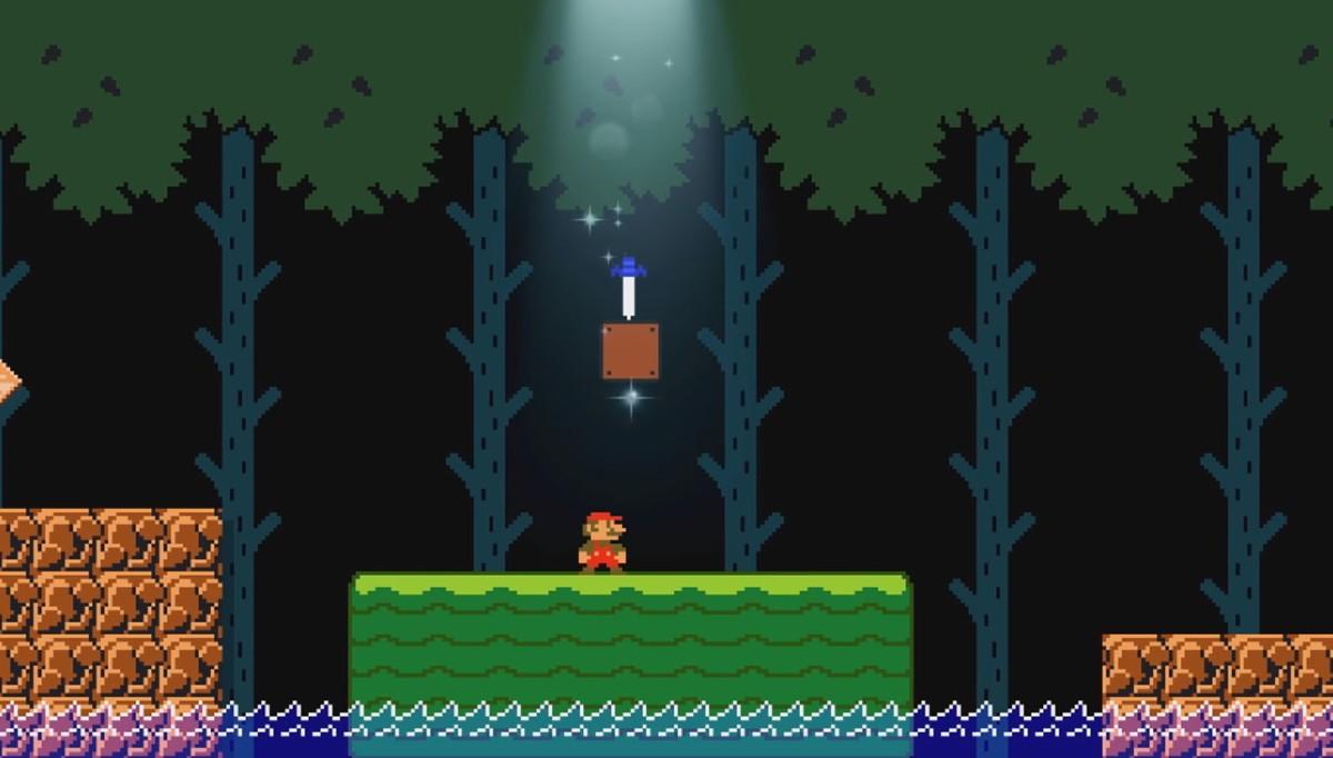 Mario se podrá convertir en Link en la próxima actualización de Super Mario Maker2