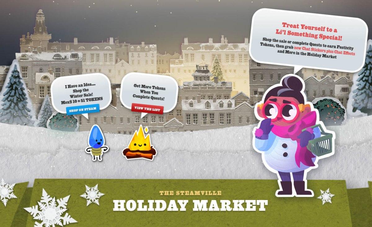 Las ofertas de invierno de Steam yacomenzaron!