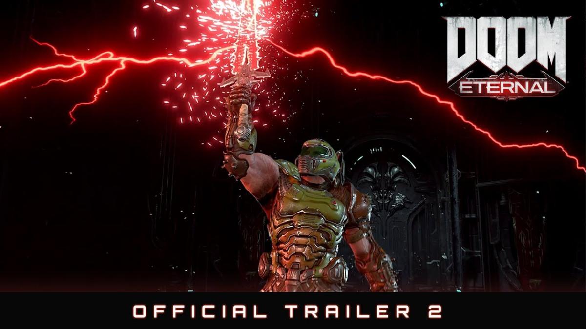El nuevo trailer de DOOM Eternal es salvajismopuro!