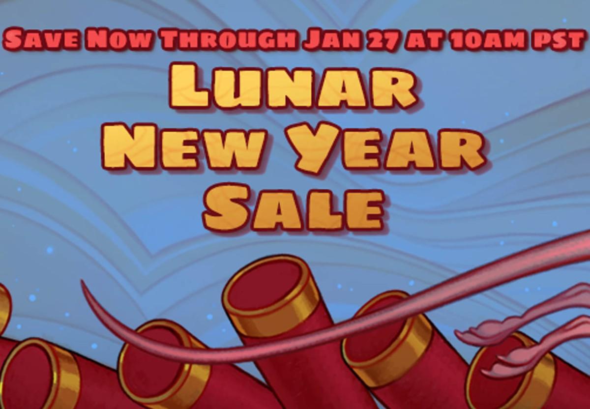 Las rebajas del nuevo año lunar ya están enSteam