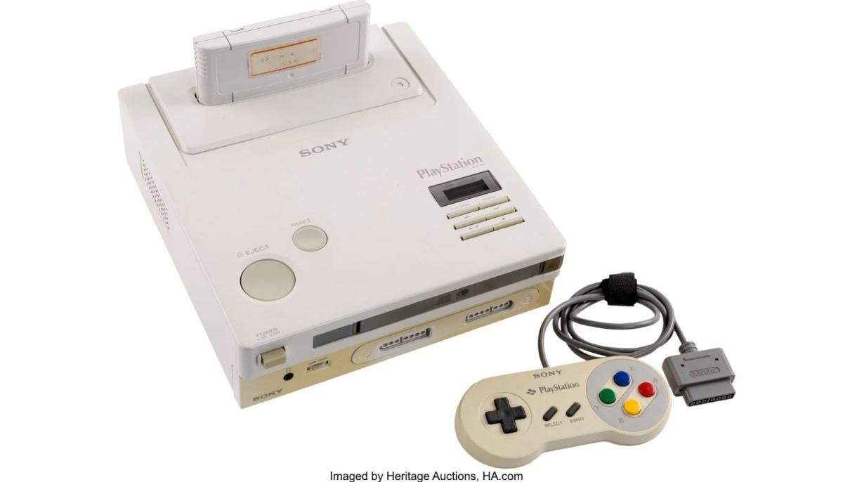 La Nintendo Playstation ya se encuentra ensubasta