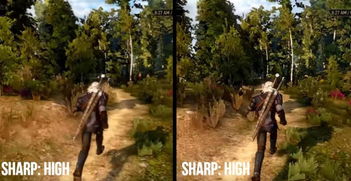 The Witcher 3 en Switch así lucen sus gráficos con el Update3.6
