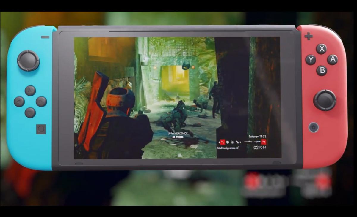 A finales de mes podrás machacar zombies on the go con Zombie Army Trilogy en NintendoSwitch