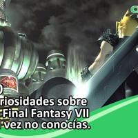 10 curiosidades de Final Fantasy VII que tal vez no conocías