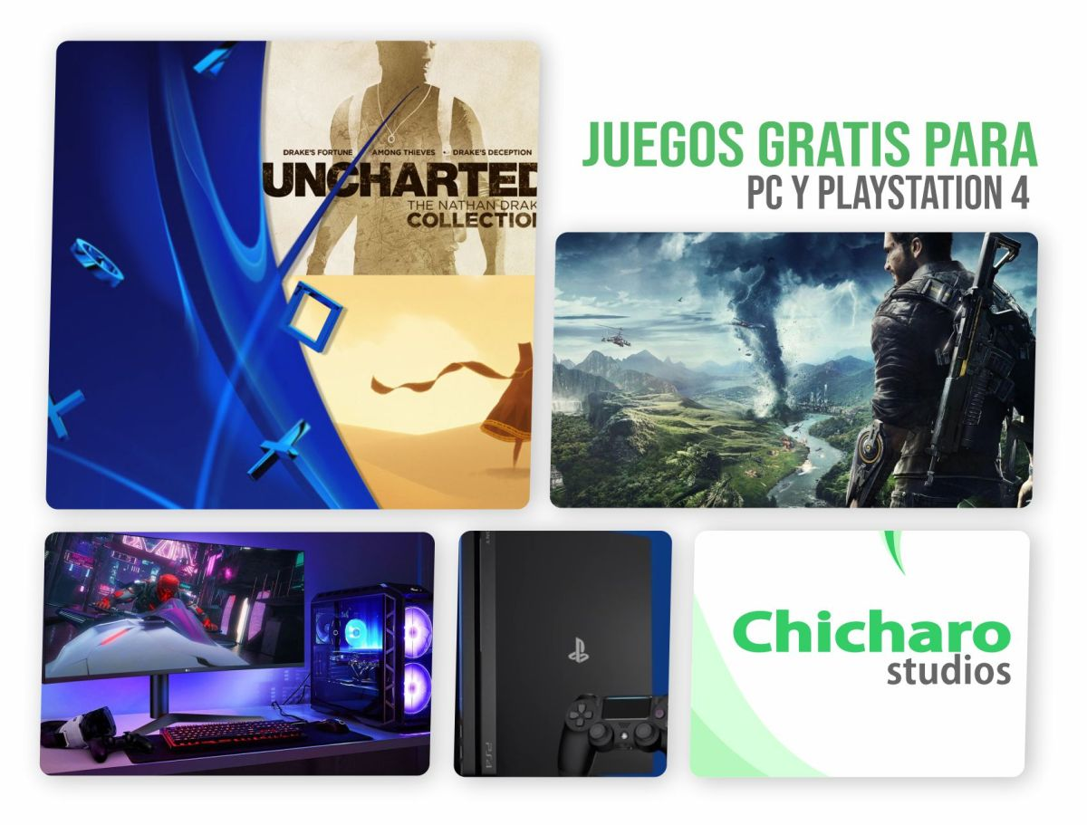 Juegos gratis de PC y PS4 este fin de semana – Actualizado abril 18 2020–