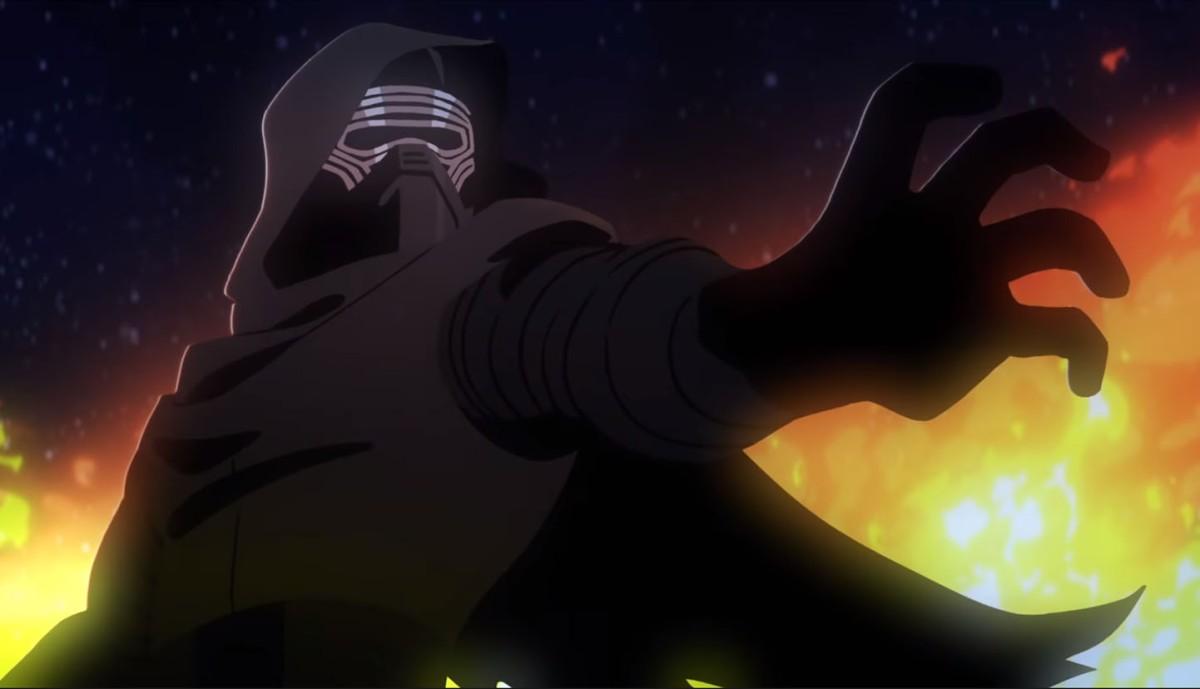 Star Wars Galaxy of adventures nos muestra como Kylo Ren sigue los pasos de DarthVader