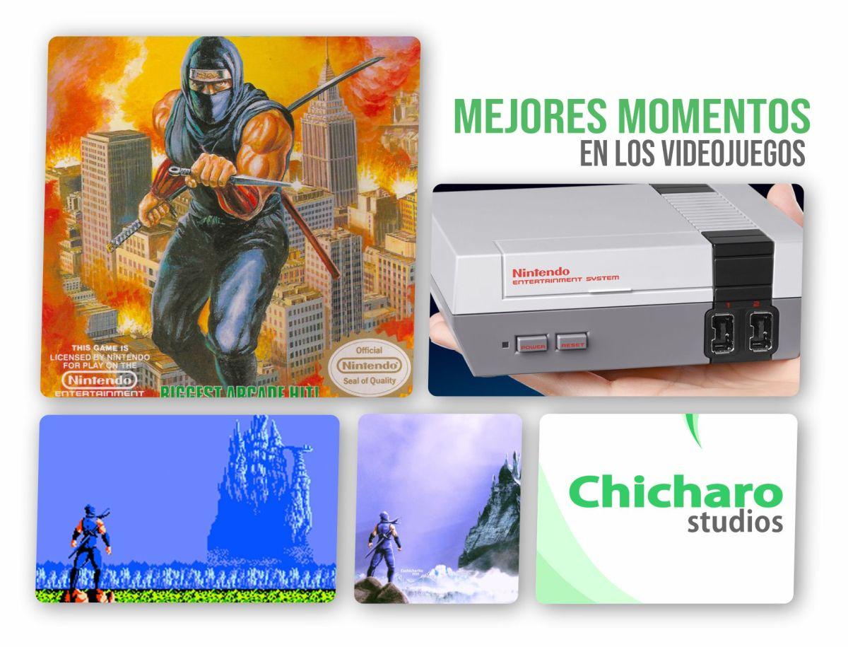 Mejores momentos de los videojuegos – El Templo en Ninja Gaiden–