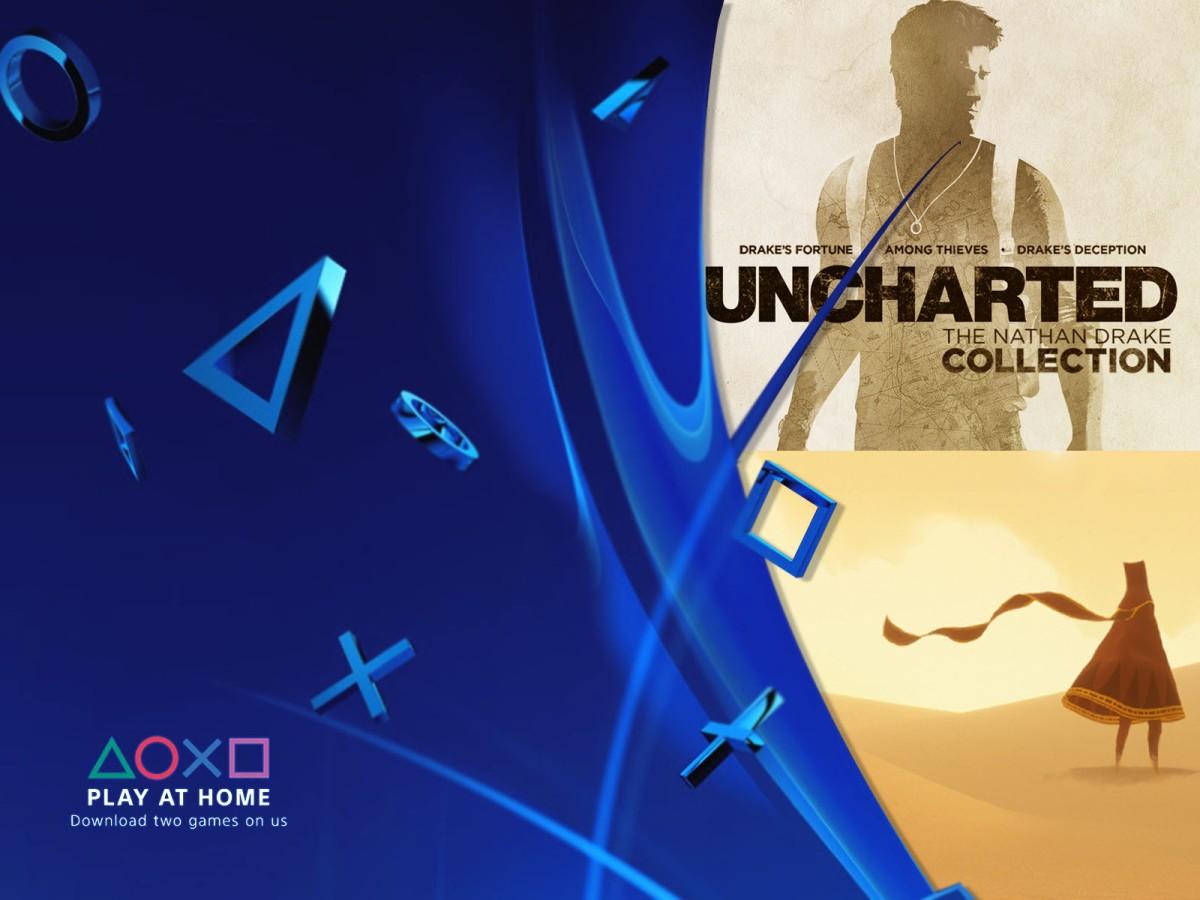 Sony te regala la saga de Uncharted y Journey para que te quedes encasa