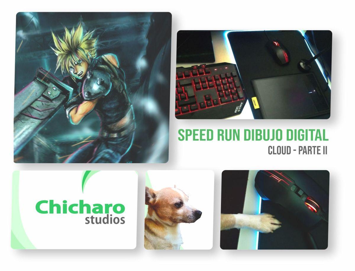 Speed Run con Exchicharito – Cloud Strife – Parte2