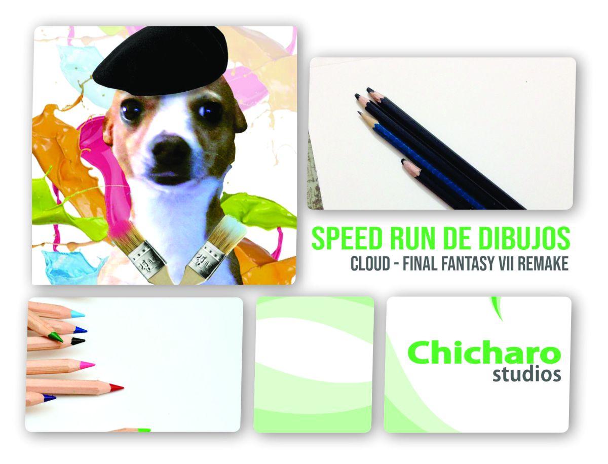 Speed Run con Exchicharito – Cloud Strife–