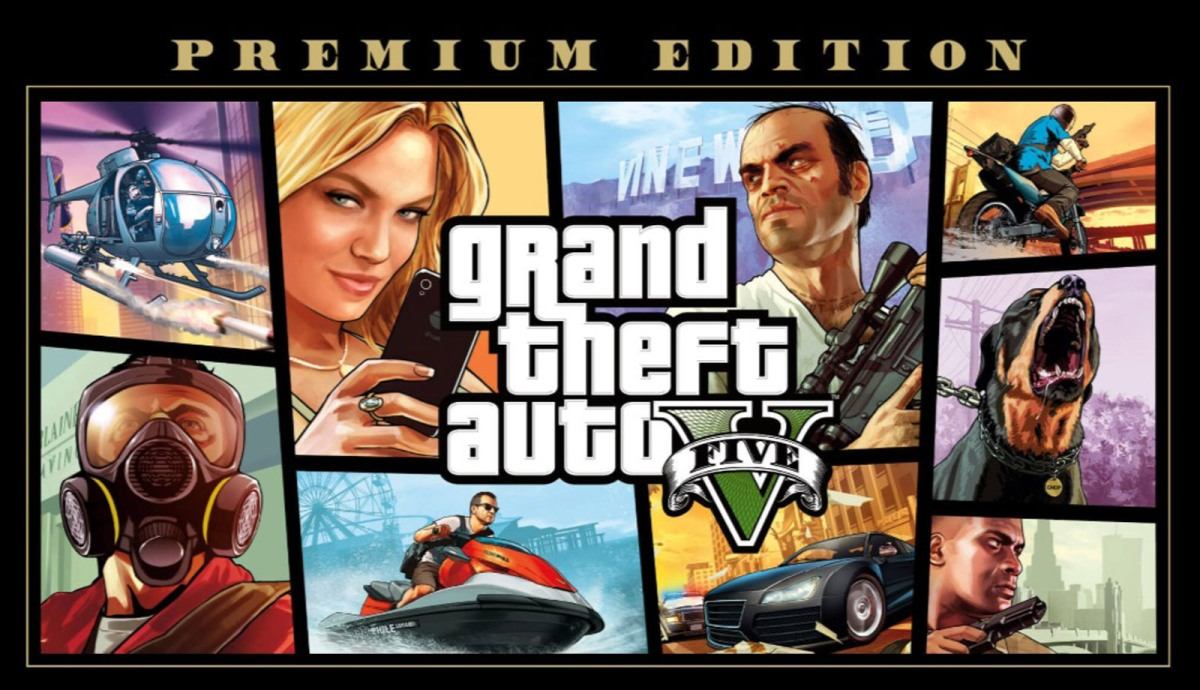 GTA V premium edition is free right now on the Epic GamesStore!