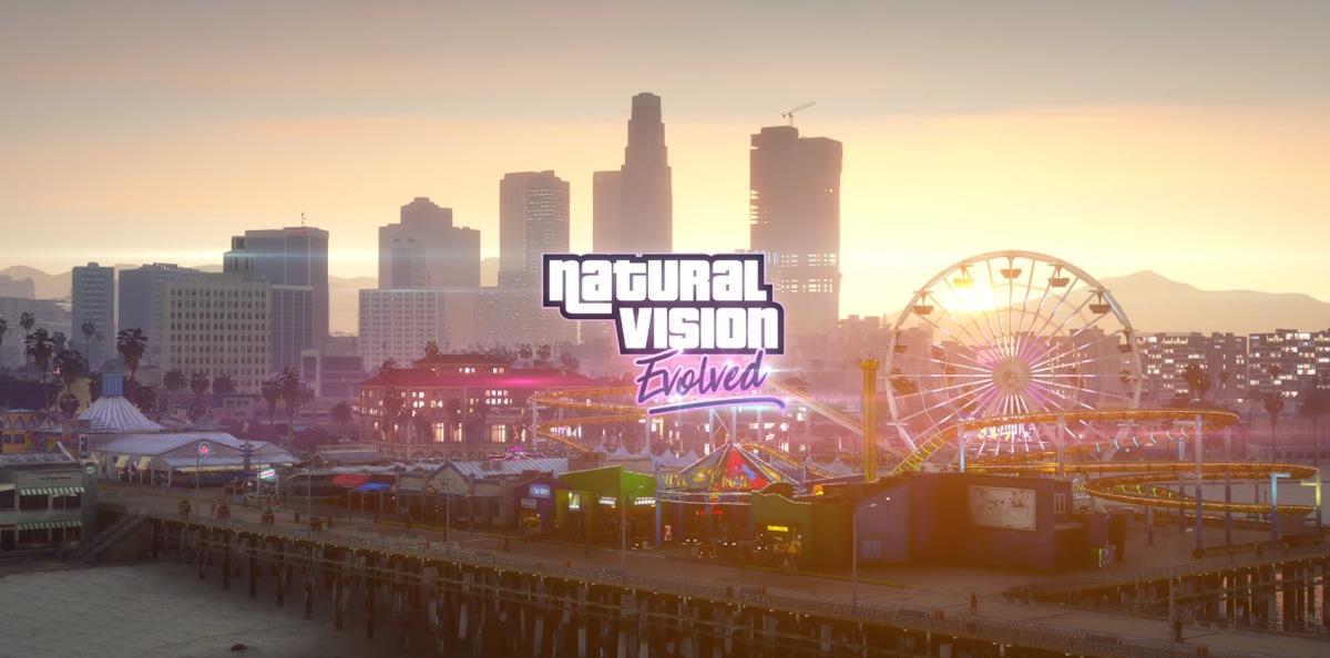 Natural vision Evolved mod makes GTA V looks like a next gengame