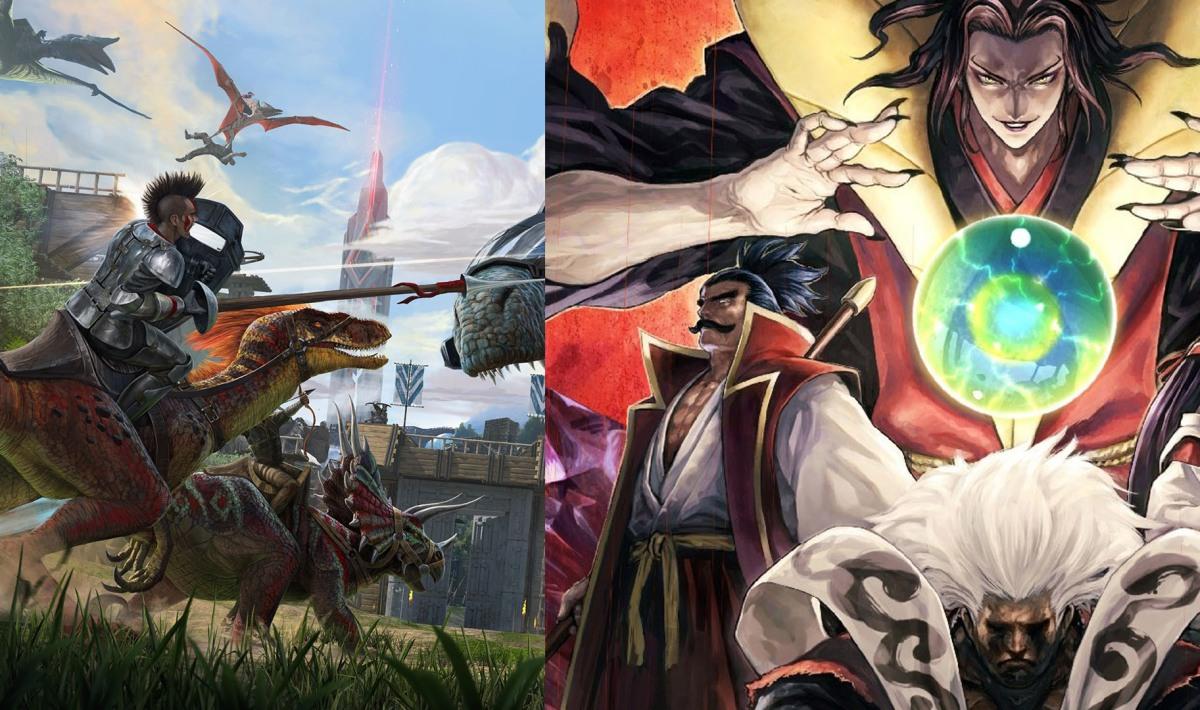 ARK Survival Evolved y Samurai Shodown NEOGEO Collection grátis en la Epic GamesStore