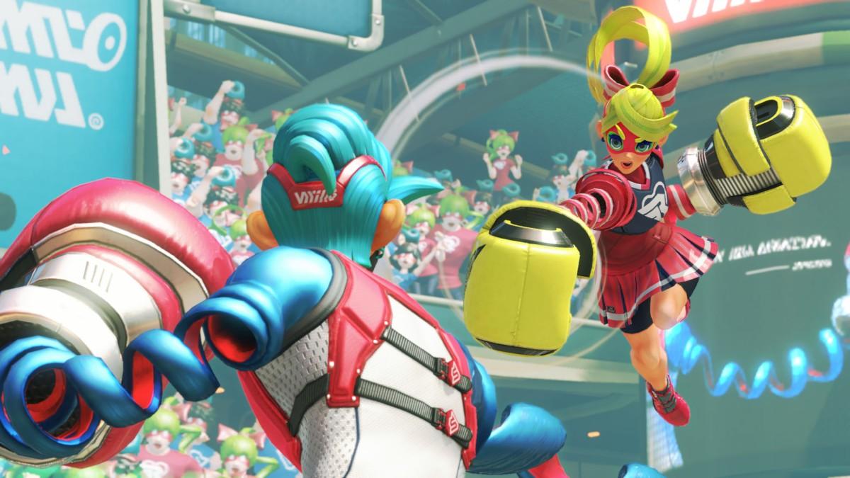 Super Smash Bros. Ultimate presentará a su peleador de Arms el 22 dejunio