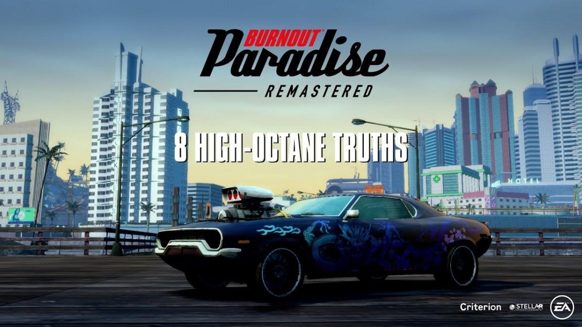 El último trailer de Burnout Paradise Remastered en Switch, llega para aumentar elhype