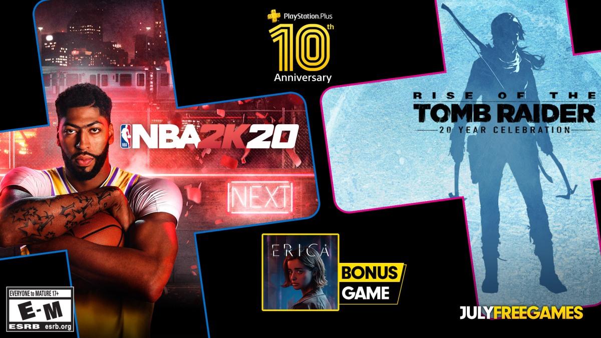 Estos son los juegos gratis de Playstation Plus – Julio 2020–