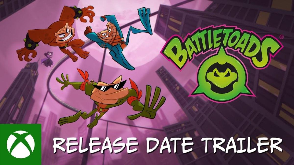 Battletoads ya tiene fecha de salida en Xbox One yPC