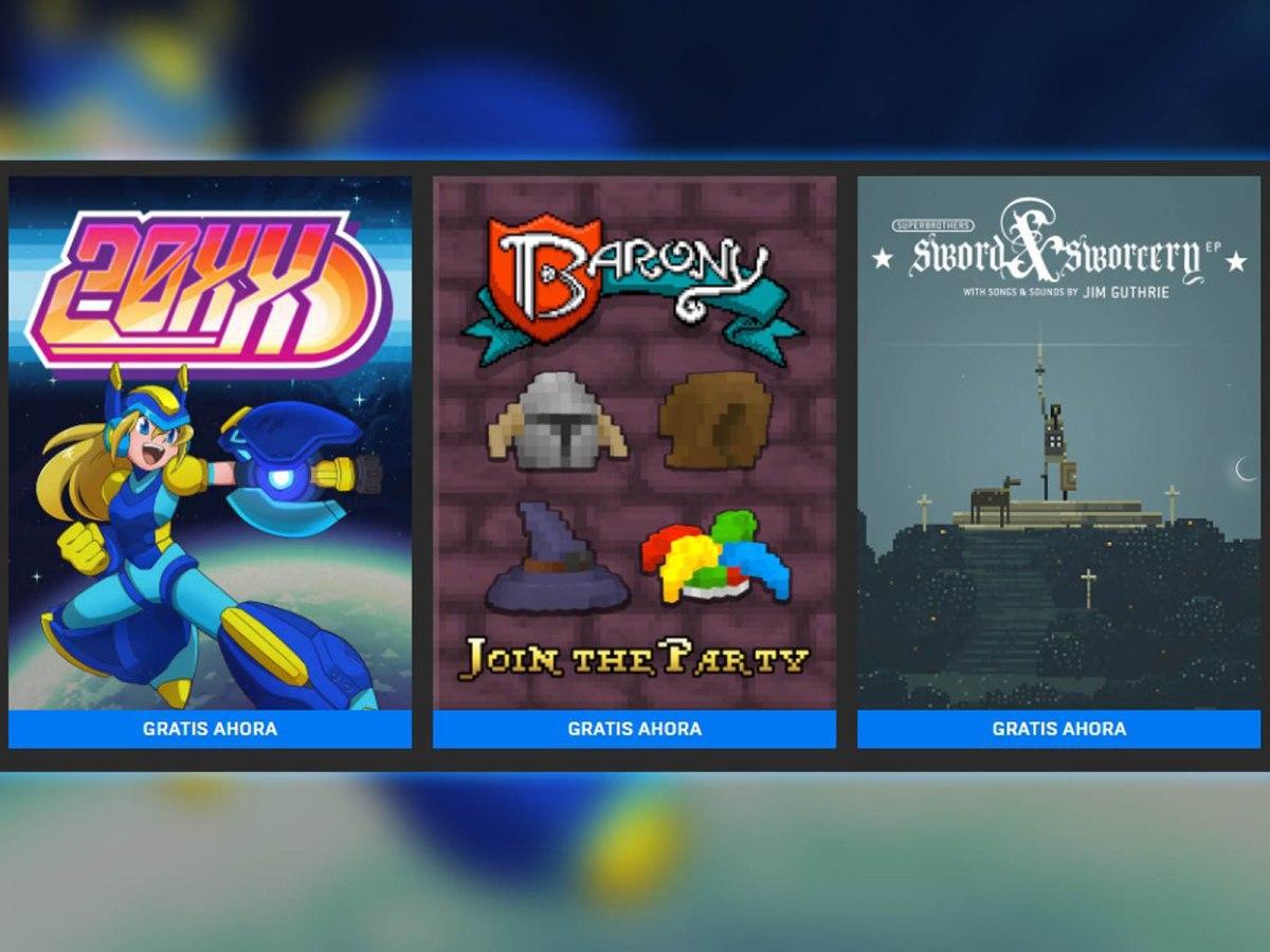 20XX, Barony y Superbrothers ya gratis en la Epic GamesStore