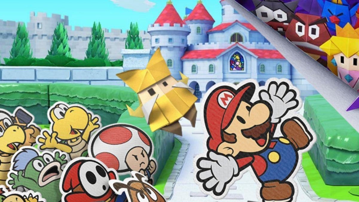 Estos 30 minutos de gameplay de Paper Mario: The Oirgami King es todo lo que ocupas ver en estesábado