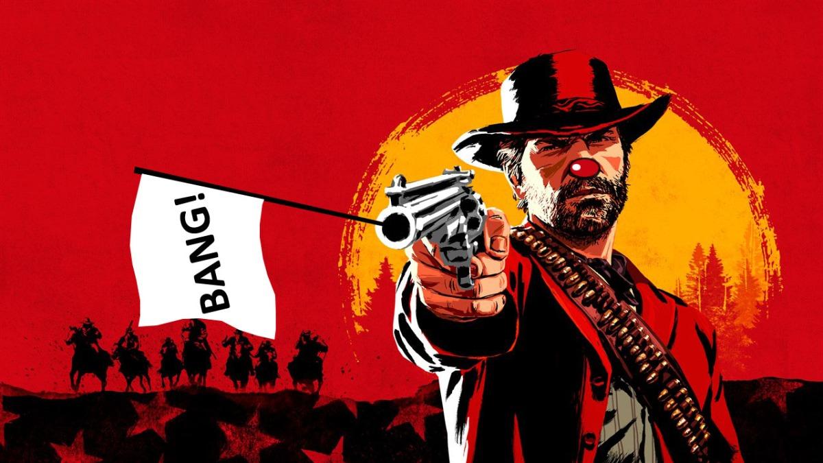 Los usuarios de Red Dead Online se están vistiendo como payasos para protestar anteRockstar
