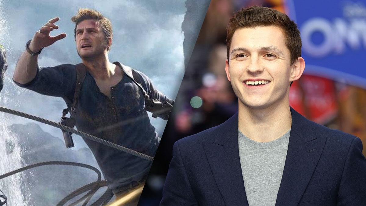 Tom Holland confirma que la película de Uncharted ya está enrodaje