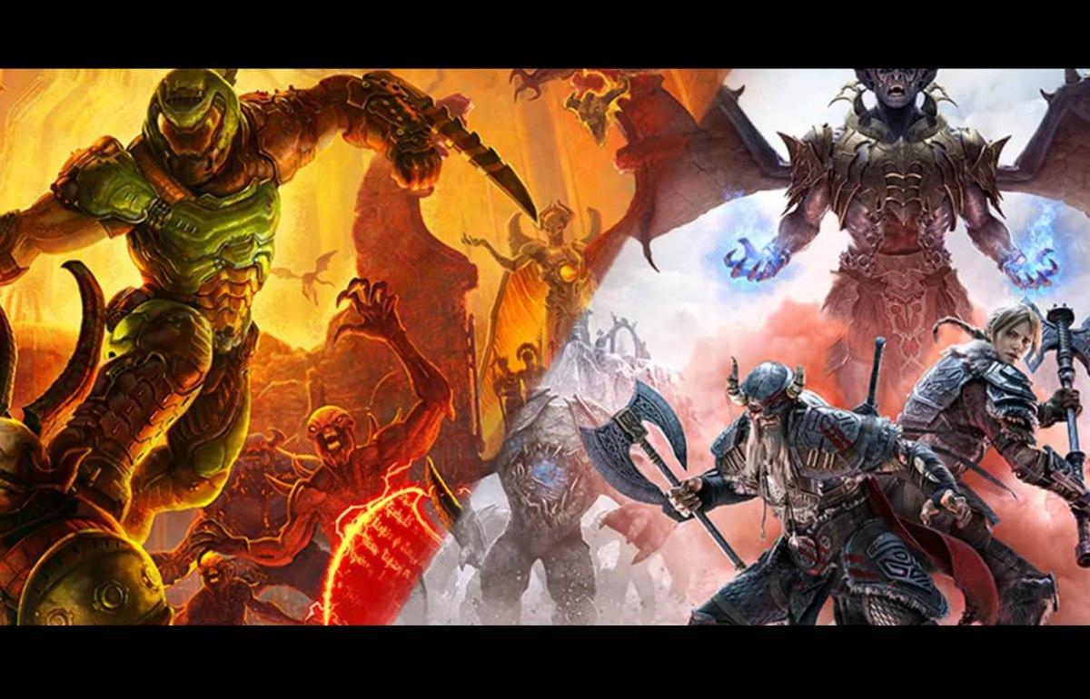 Doom Eternal y The Elder Scrolls Online se podrán jugar en Playstation 5 y SeriesX