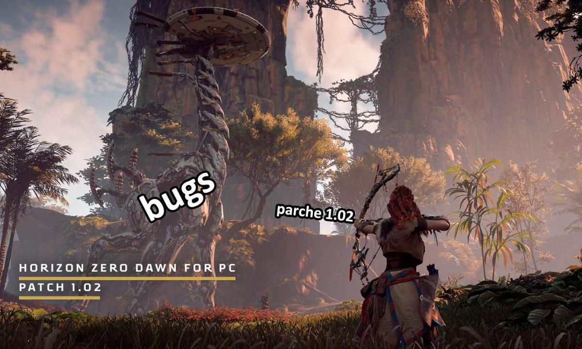 Horizon Zero Dawn mejora su rendimiento con el parche1.02