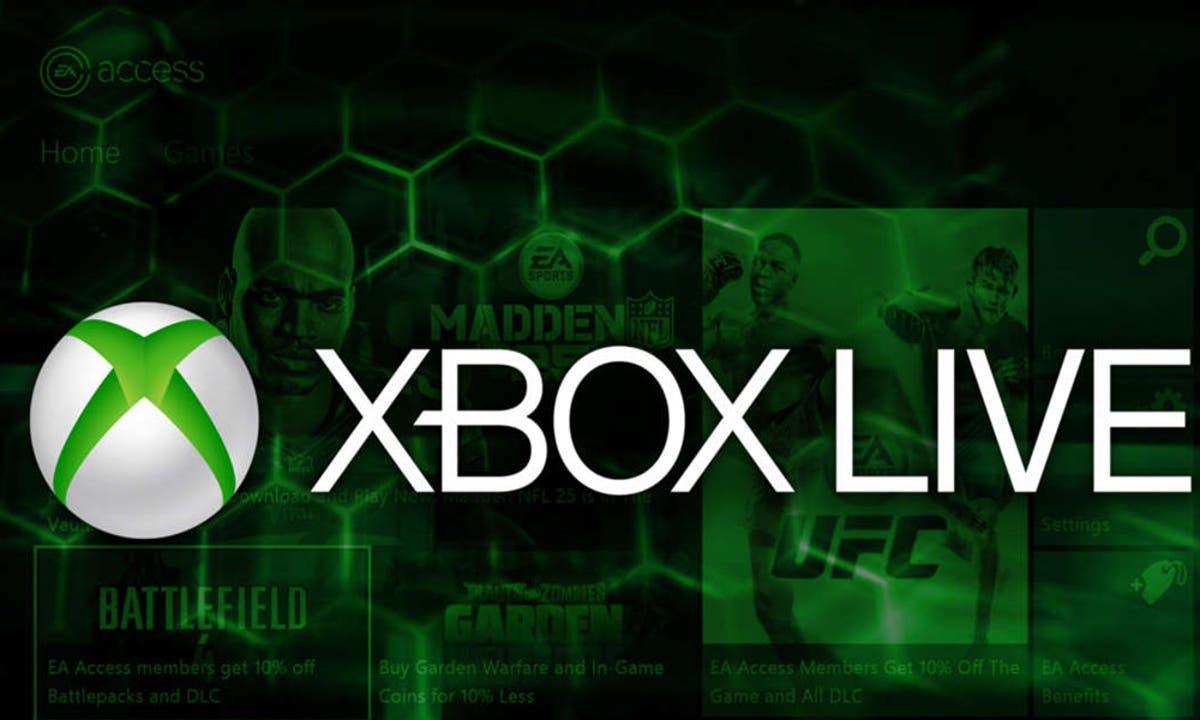 Xbox Live ya no figura más en el contráto deservicios
