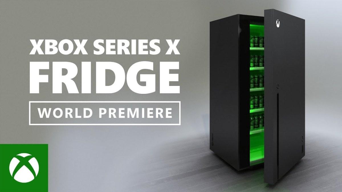 Microsoft presenta el refri de la Xbox SeriesX