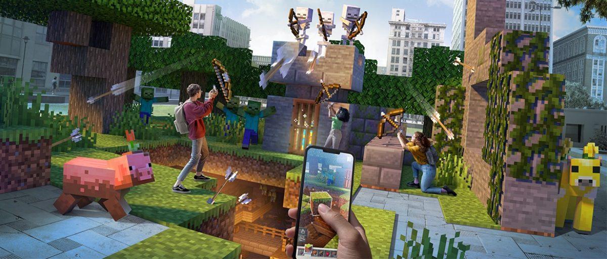 Minecraft Earth llegará a su fin en junio del2021