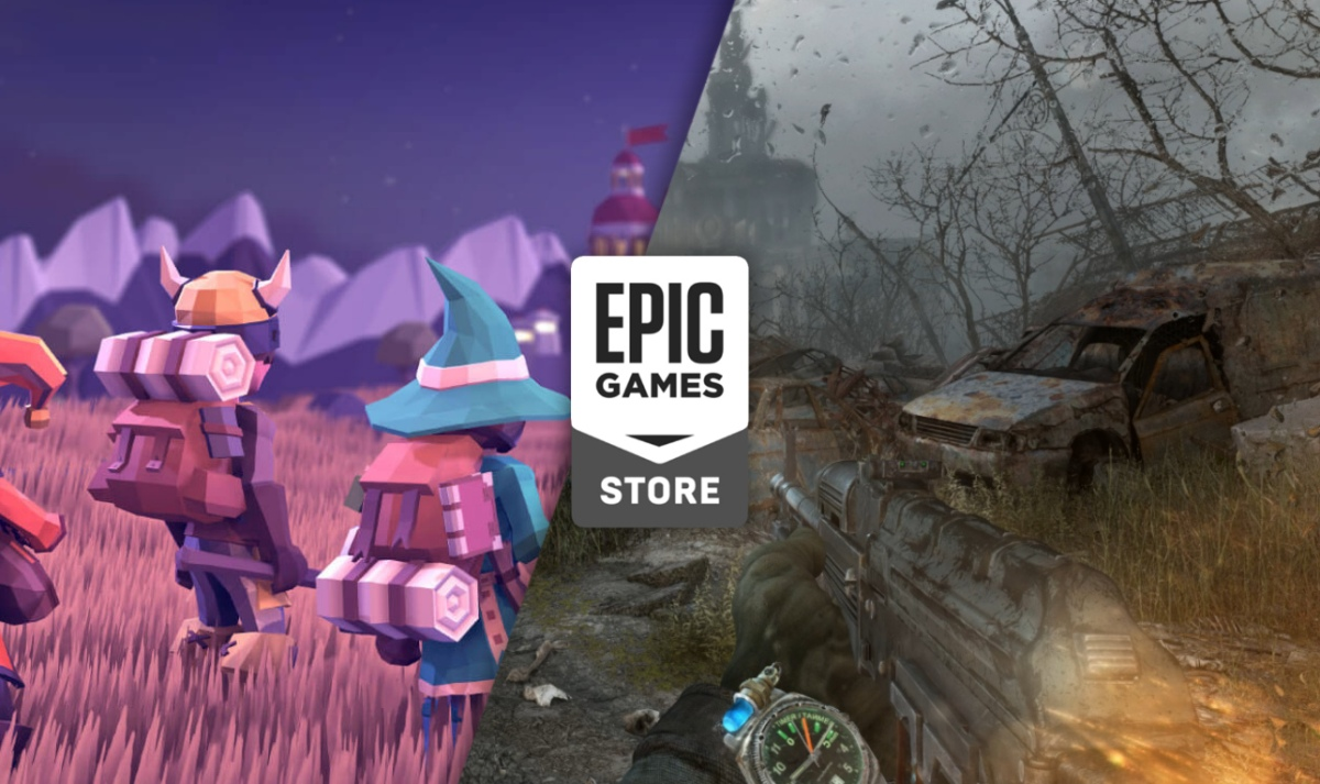 For the king y Metro Last Light Redux gratis en la Epic Store Games