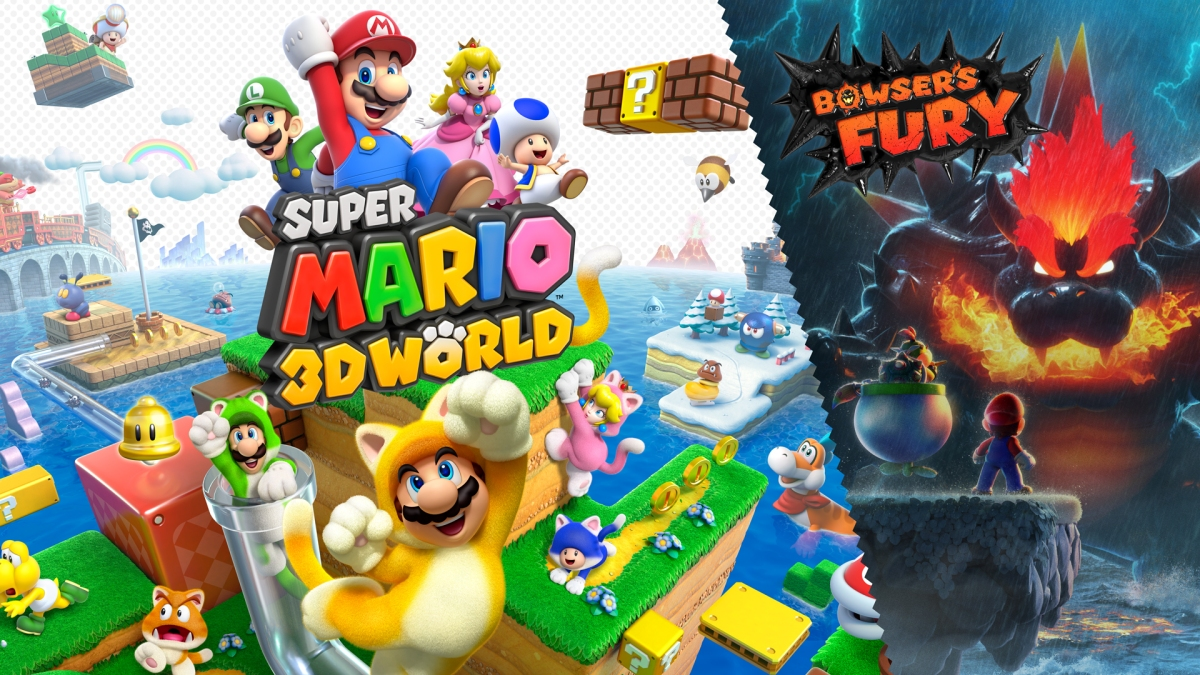 Super Mario 3D World comparación gráfica Switch vs WiiU