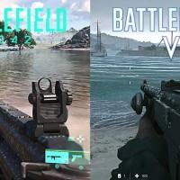 Así se ve Battlefield 2042 frente a Battlefield V